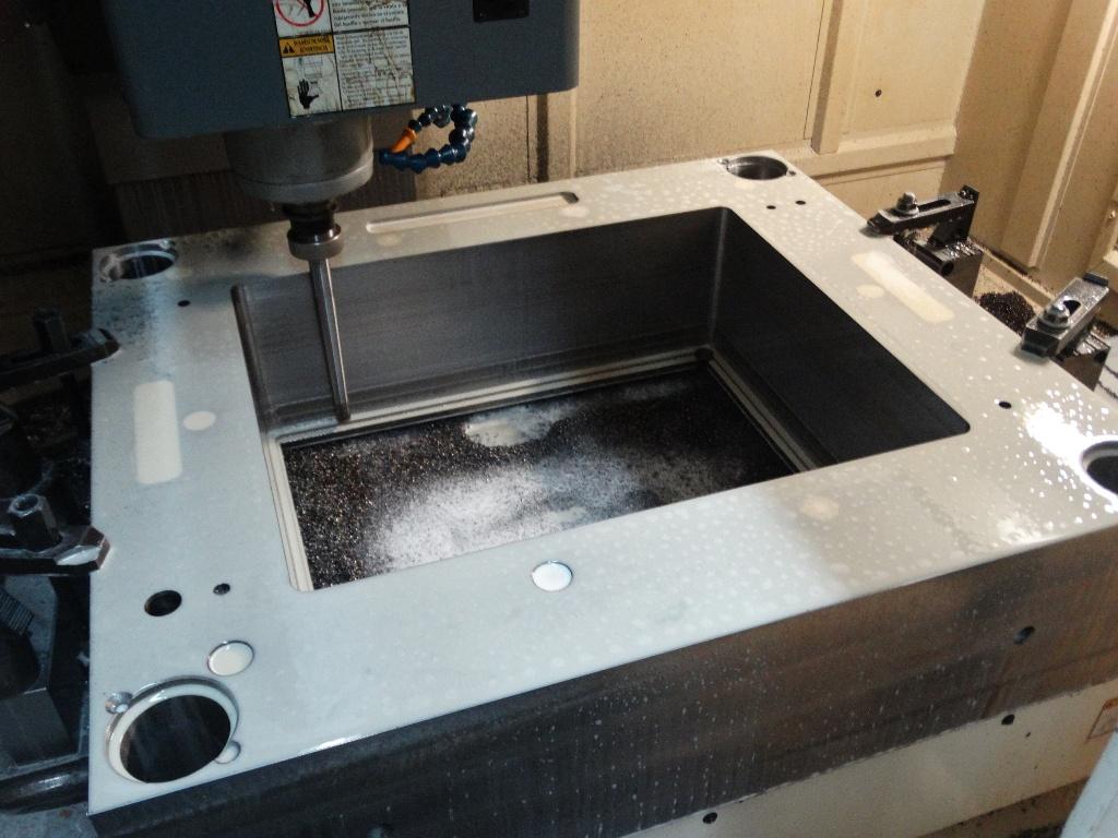 Mecanizado Hembra Caja acometida electrica